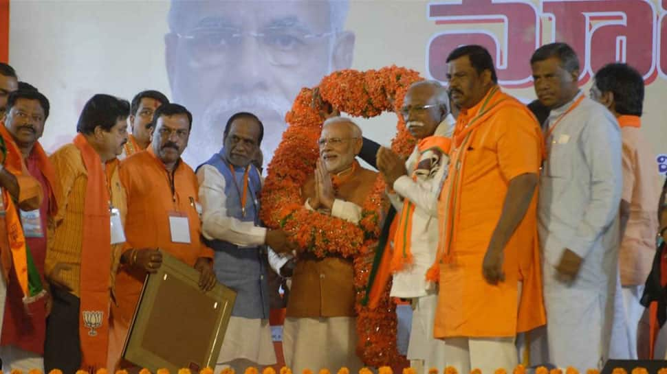 Will play vital role in formation of next Telangana government, says BJP