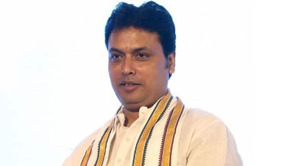 Tripura chief secretary writes to West Bengal counterpart over 'lack of security planning' for CM Biplab Deb's visit