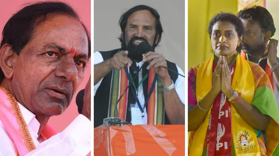 Telangana Assembly elections 2018: A look at TRS, TDP, Congress heavyweights