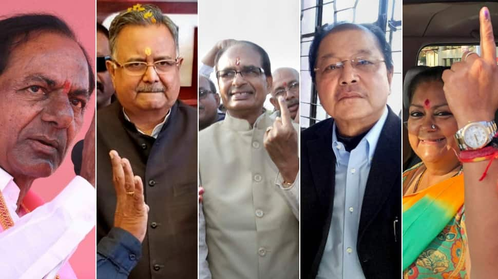 Stage set for Telangana, Madhya Pradesh, Rajasthan, Chhattisgarh, Mizoram Assembly elections 2018 results; counting of votes to begin at 8 am