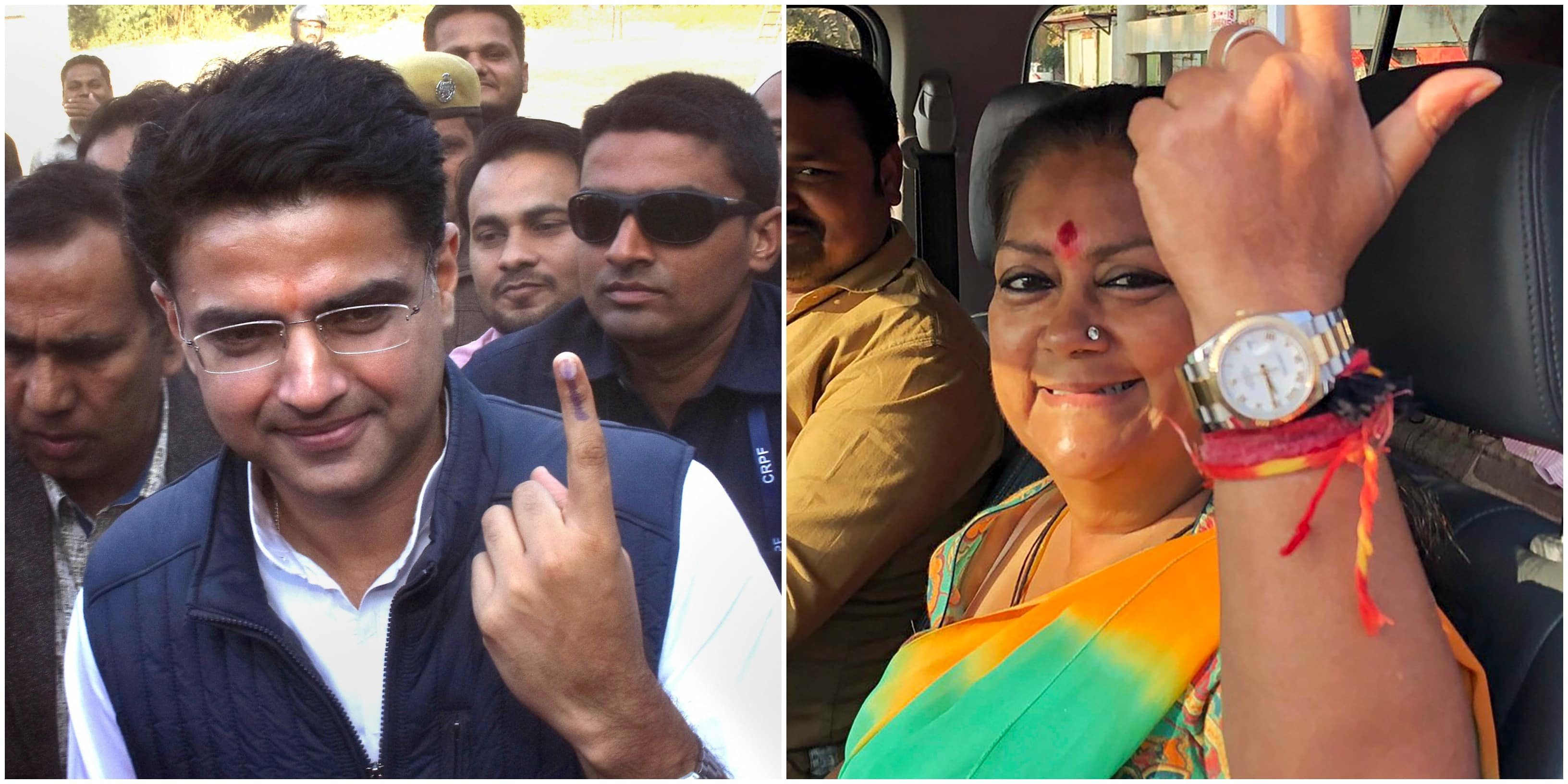Rajasthan Assembly elections 2018 prominent winners and losers