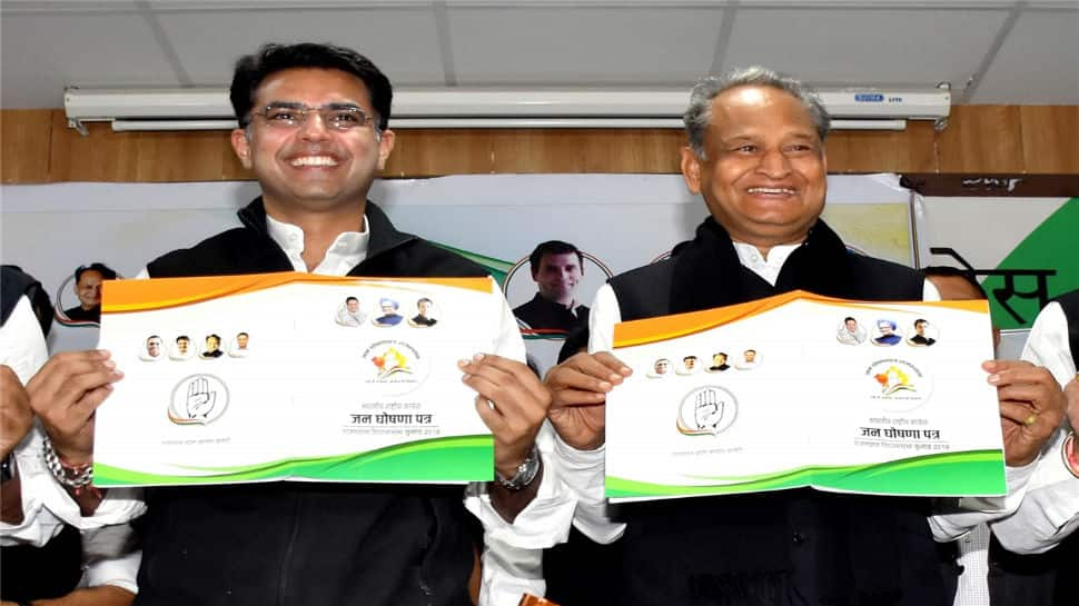 Congress will form government in Rajasthan: Gehlot, Pilot
