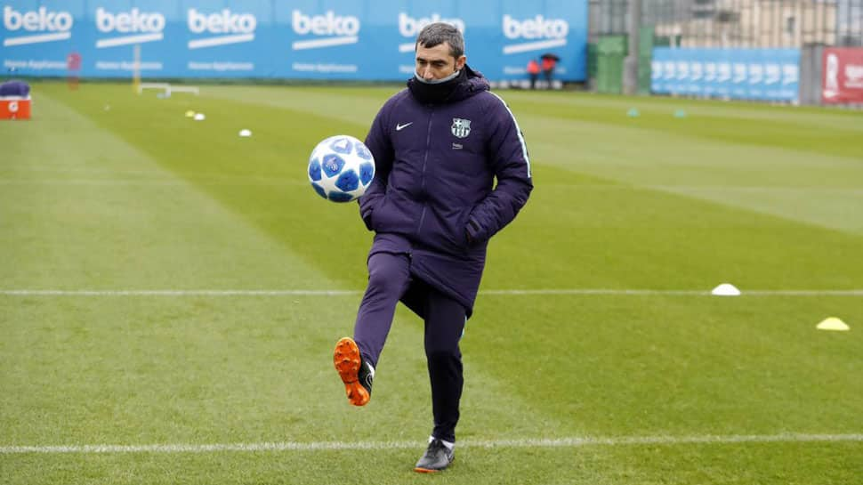 UCL: Barcelona coach Ernesto Valverde promises changes but wants to beat Spurs