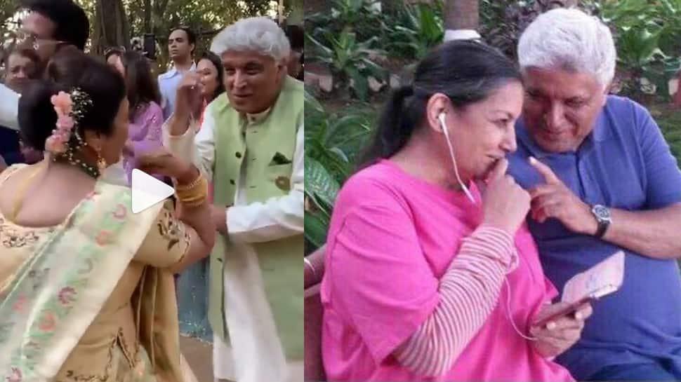 Here's the truth behind the video of Shabana Azmi, Javed Akhtar and Urmila Matondkar dancing at Isha Ambani's pre-wedding bash