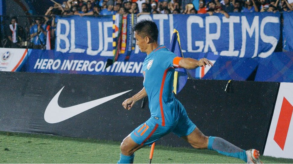 Playing top Asian sides key for India, says captain Sunil Chhetri
