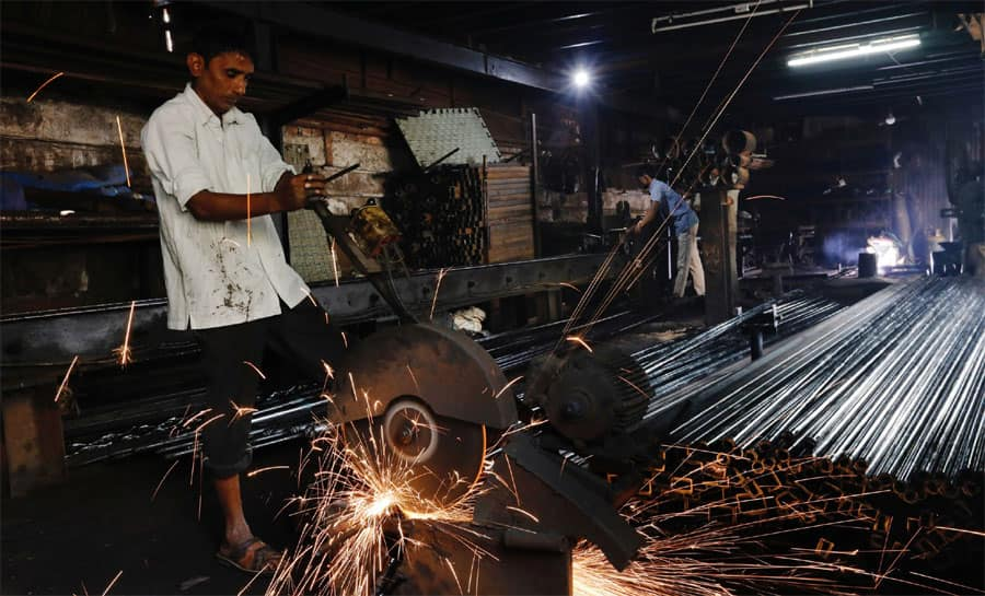 Industrial output growth fastest in 11 months at 8.1% in October