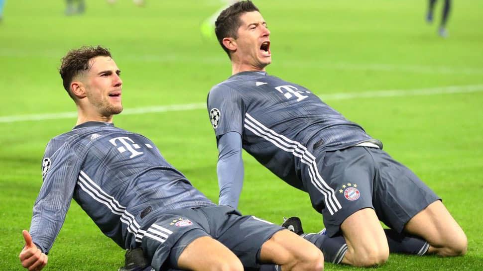 UCL: Robert Lewandowski double sees Bayern claim top spot after Ajax thriller