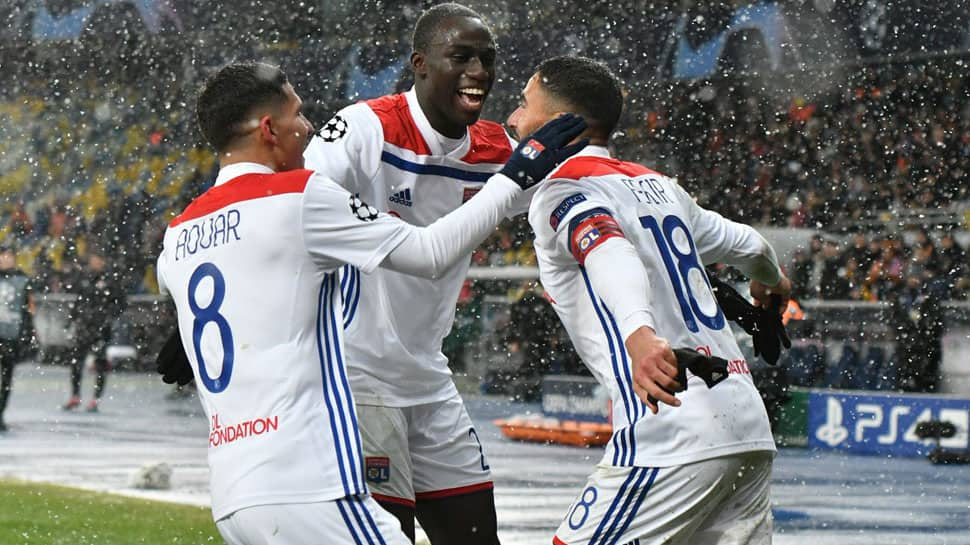 UEFA Champions League: Olympique Lyon draw 1-1 with Shakhtar Donetsk to reach last 16
