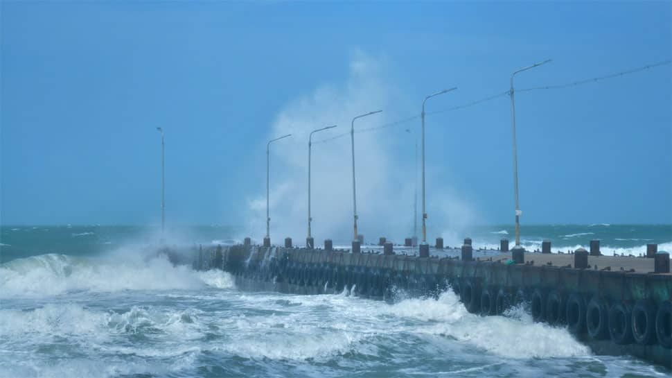 Cyclonic storm to intensify across Andhra Pradesh coast in 24 hours; IMD issues heavy rain alert