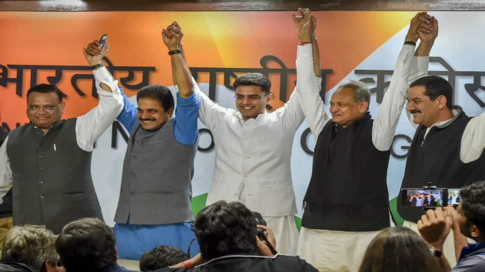Congress names Ashok Gehlot as Rajasthan CM, Sachin Pilot to be his deputy