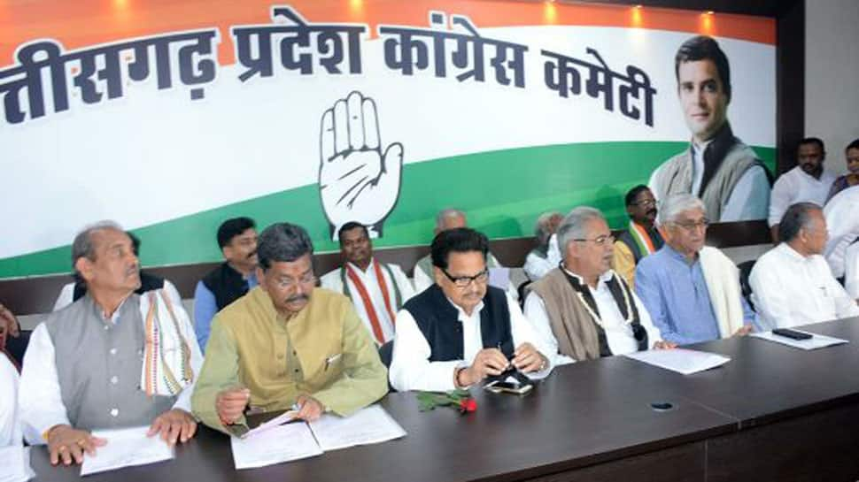 Rahul Gandhi holds hectic parleys with top Congress leaders to select next Chhattisgarh CM