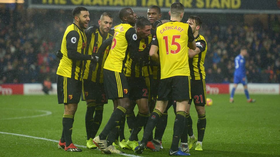 EPL: Watford hold nerve to clinch narrow win over Cardiff
