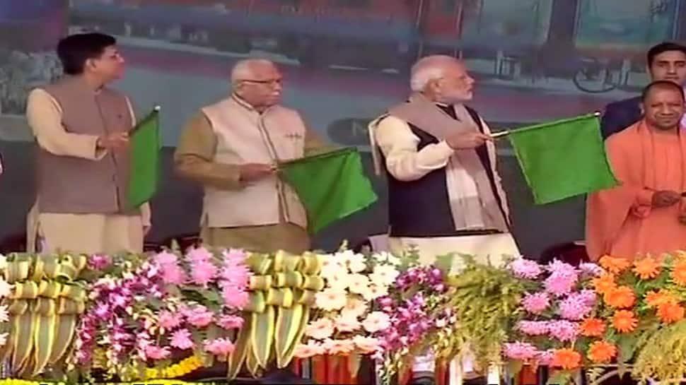 PM Narendra Modi's development push in Raebareli; targets former UPA govt in Gandhi bastion