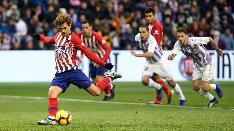 La Liga: Antoine Griezmann rescues Atletico in 3-2 La Liga win over Valladolid