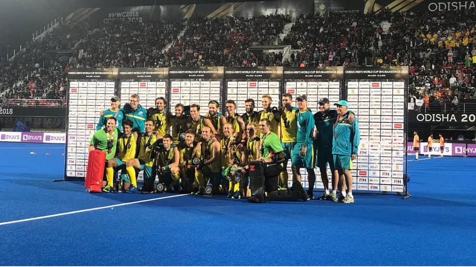 Hockey World Cup: Australia thrash England 8-1 to clinch bronze medal