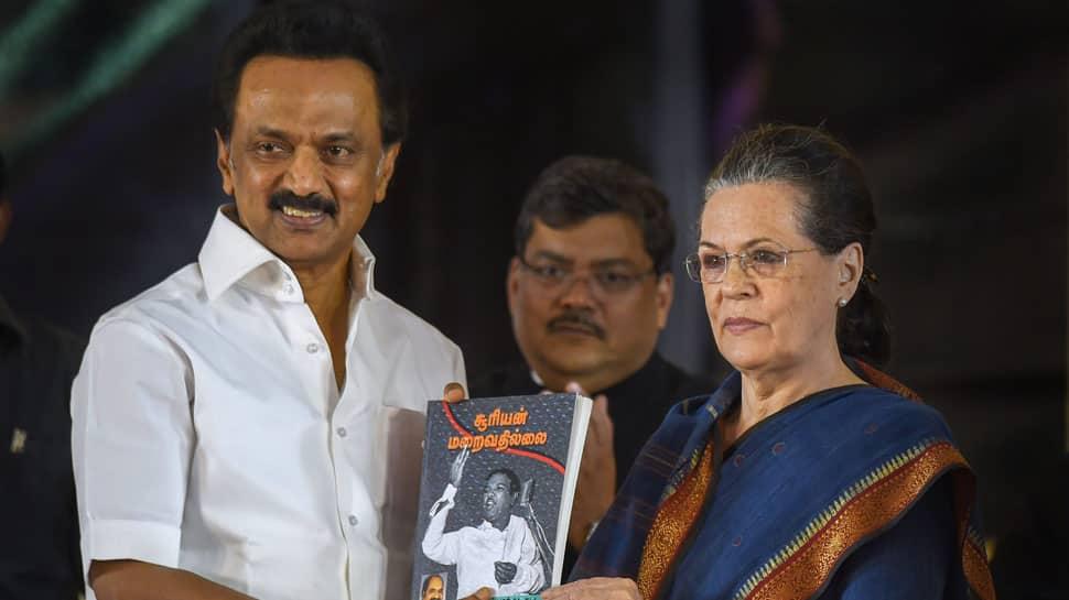 Sonia Gandhi bats for strong Congress-DMK ties to take on BJP in Lok Sabha polls