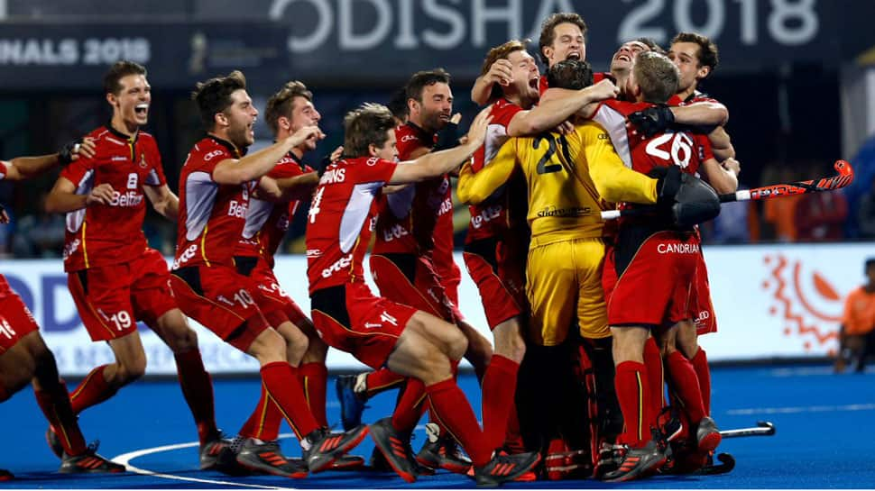 Hockey World Cup: Belgium beat Netherlands in penalty shoot-out to win maiden title