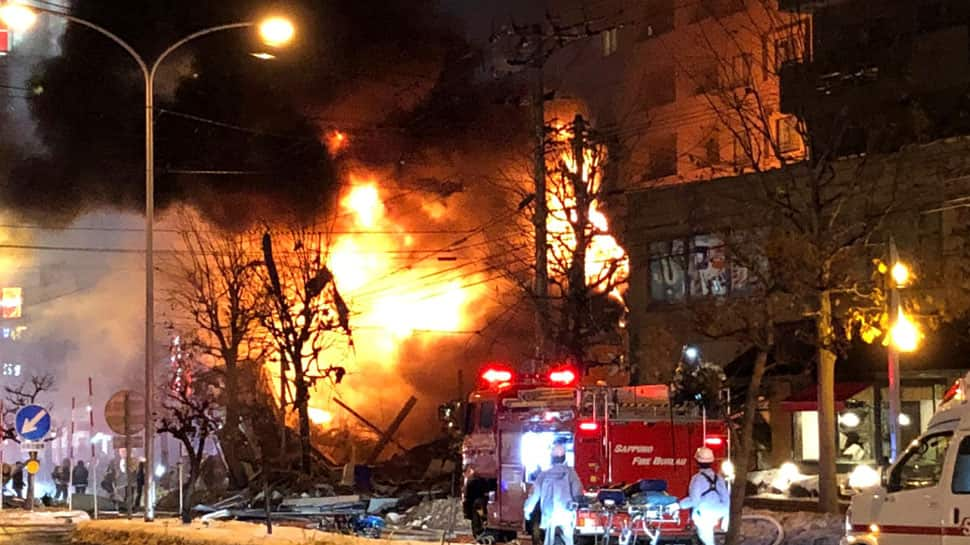 Japan: More than 40 injured in explosion in Sapporo