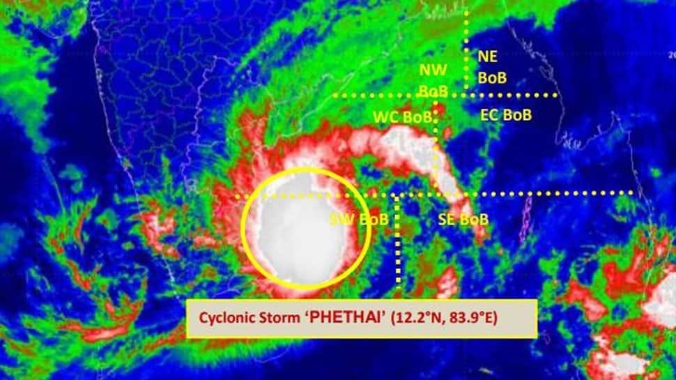 Andhra Pradesh coastal areas brace for cyclonic storm Phethai, alert sounded