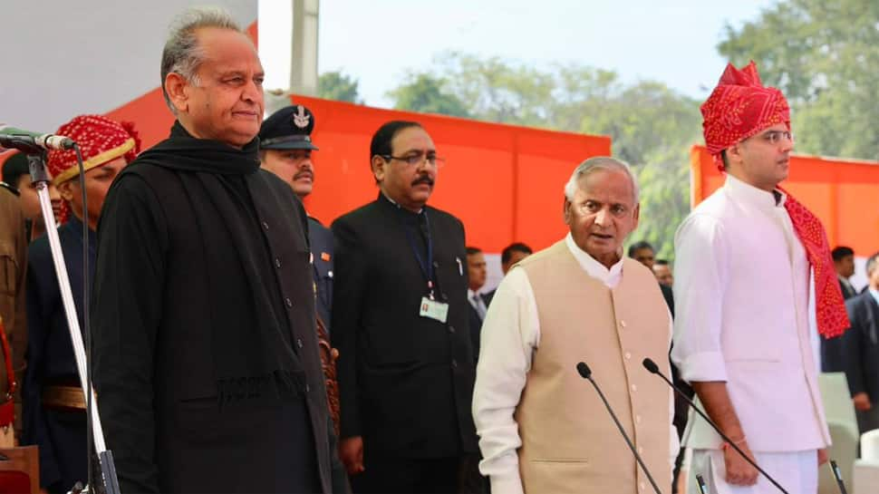 Ashok Gehlot takes oath as Rajasthan CM, Sachin Pilot becomes his Deputy