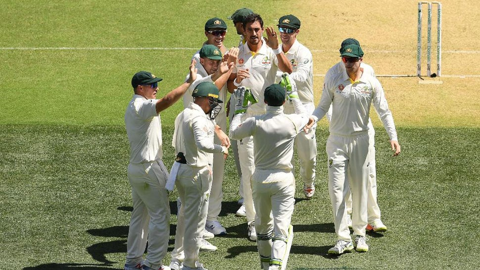 Perth Test: Aussies on course for series-levelling win after Indian batsmen stutter