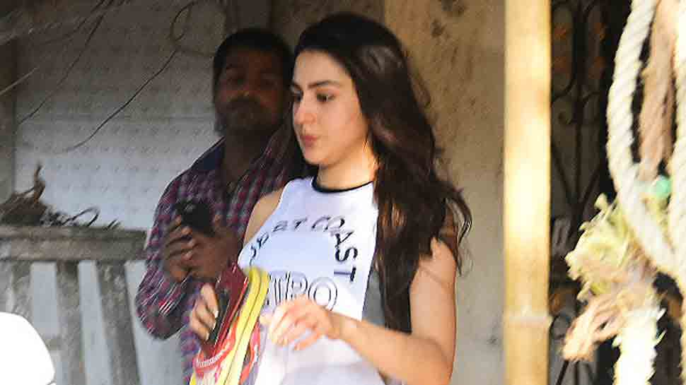 Sara Ali Khan looks fit and fab post her workout session — In Pics