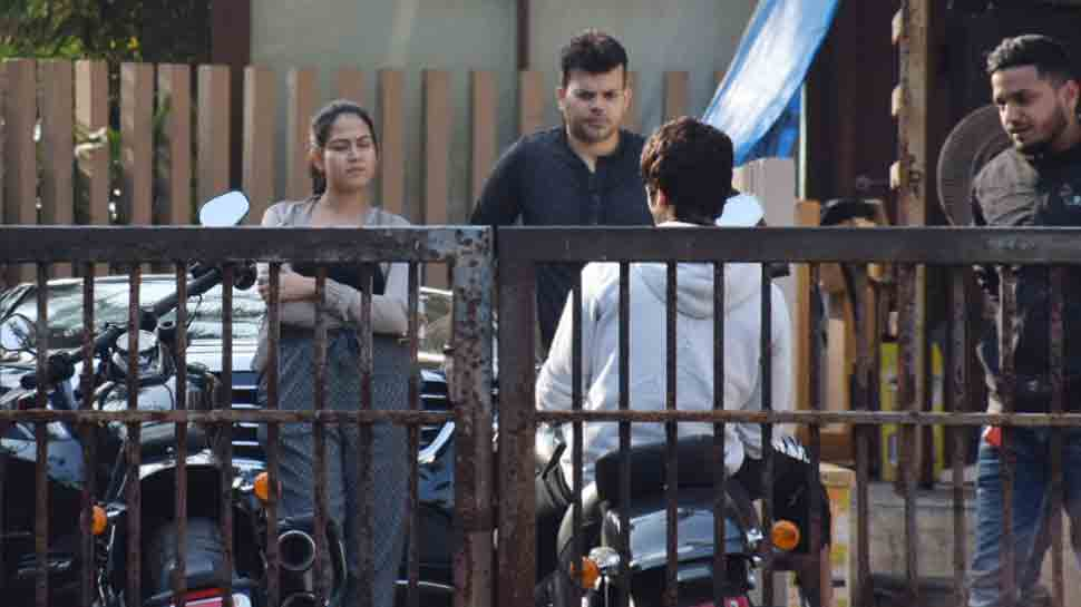 Shahid Kapoor goes for test drive of swanky bike with wife Mira Rajput — Pics