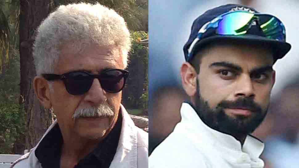 Naseeruddin Shah slams Virat Kohli in Facebook post, calls him ill-mannered, worst-behaved player