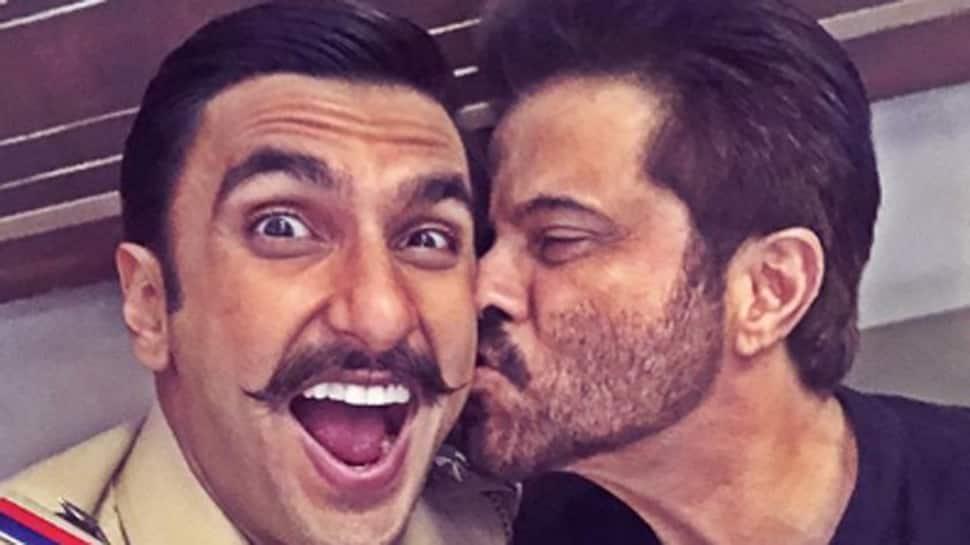 Ranveer Singh pays surprise visit to Anil Kapoor