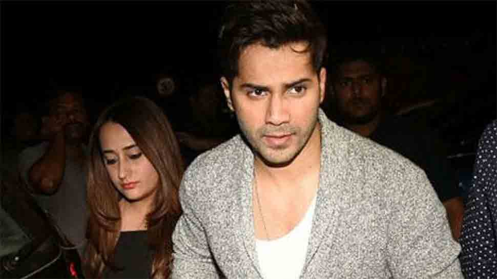 Varun Dhawan gives a funny reply when questioned about girlfriend Natasha Dalal — Watch video