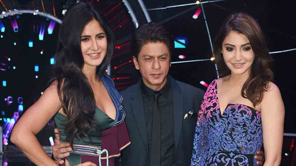 Shah Rukh Khan, Katrina Kaif, Anushka Sharma shoot for Indian Idol's grand finale episode
