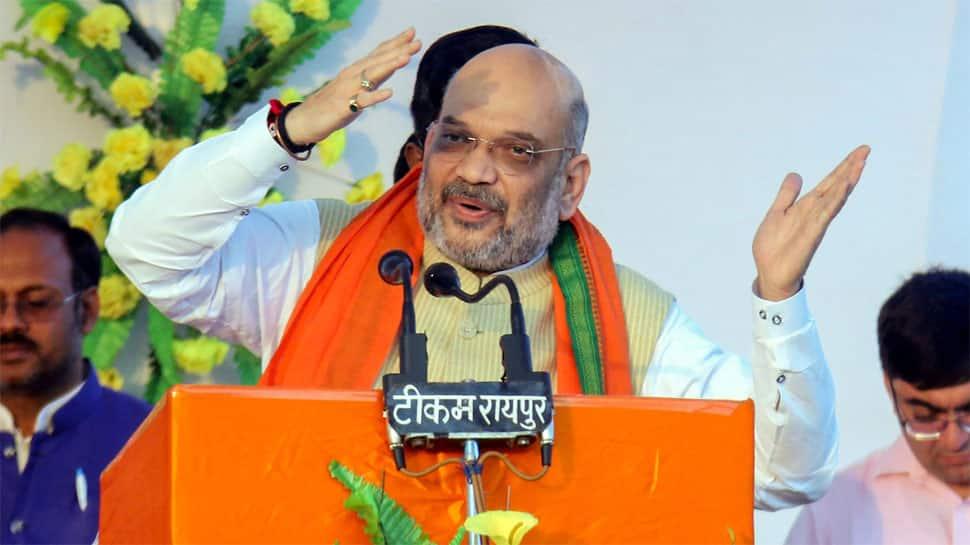 After Assembly poll loss, BJP chief Amit Shah pursues ally Shiv Sena
