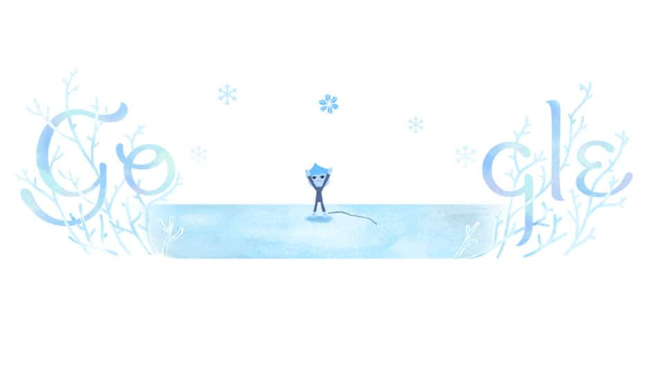 Google celebrates Winter Solstice 2018, the accompanying full moon and meteor shower with a doodle