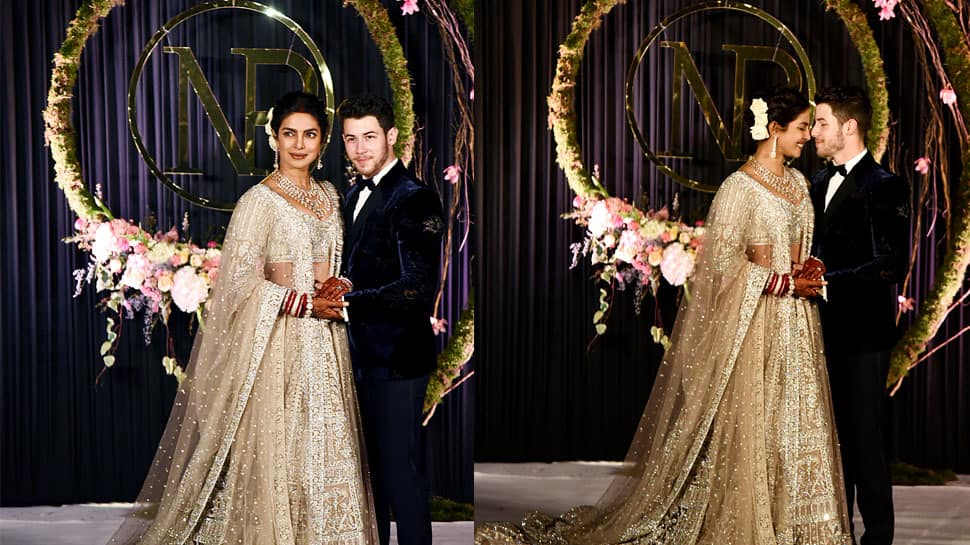 Priyanka Chopra and Nick Jonas dance to 'Desi Girl' at their Mumbai wedding reception—Watch