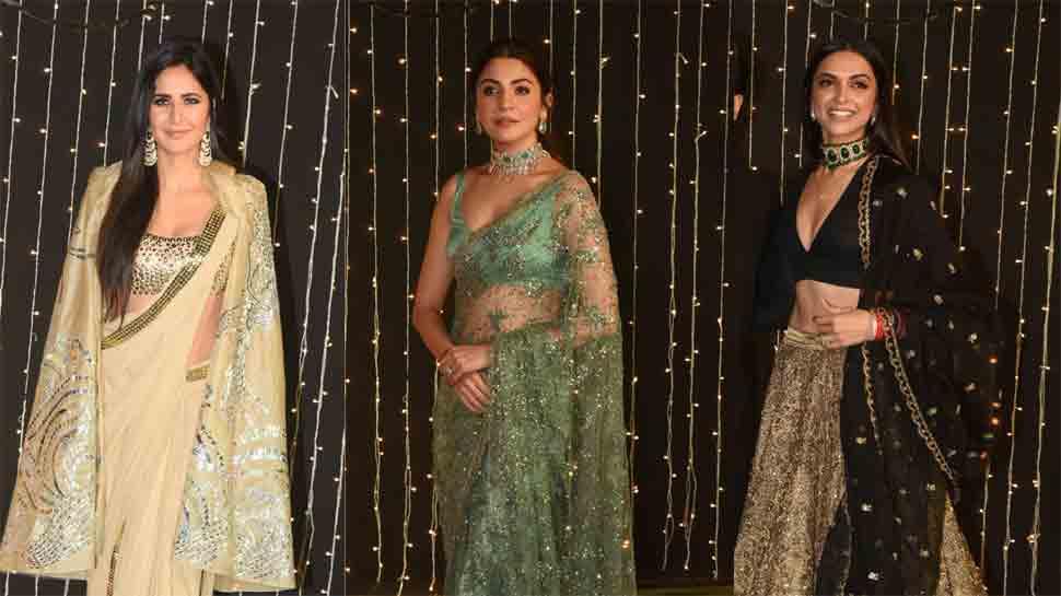 Deepika Padukone, Anushka Sharma, Katrina Kaif steal limelight at Nick Jonas-Priyanka Chopra's reception