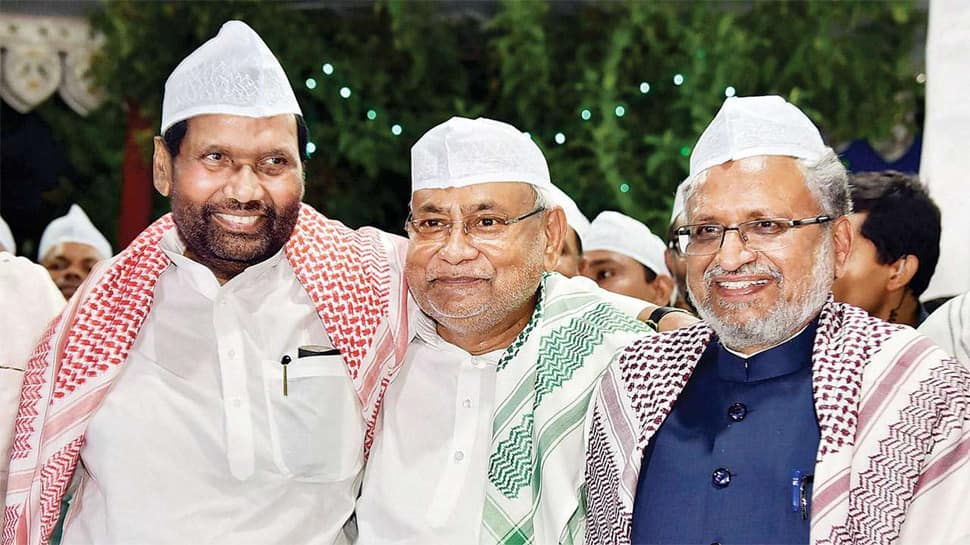 Road to 2019 polls: NDA seat-sharing formula in Bihar sealed; BJP, LJP, JDU to make joint announcement today