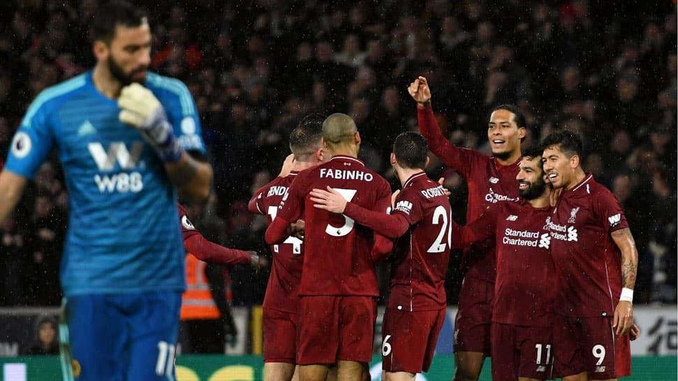 EPL: Mohamed Salah,Virgil van Dijk seal Christmas top spot for Liverpool