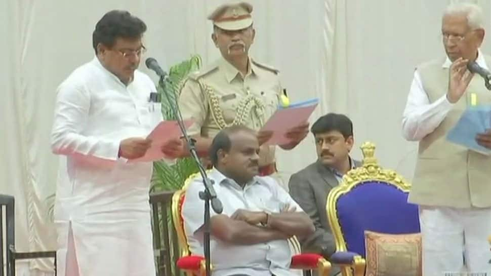 CM HD Kumaraswamy expands Karnataka cabinet, inducts 8 Congress ministers