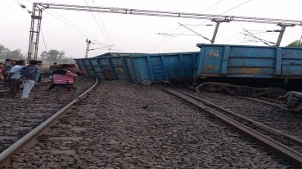 Goods train derails in UP, routes of many trains changed