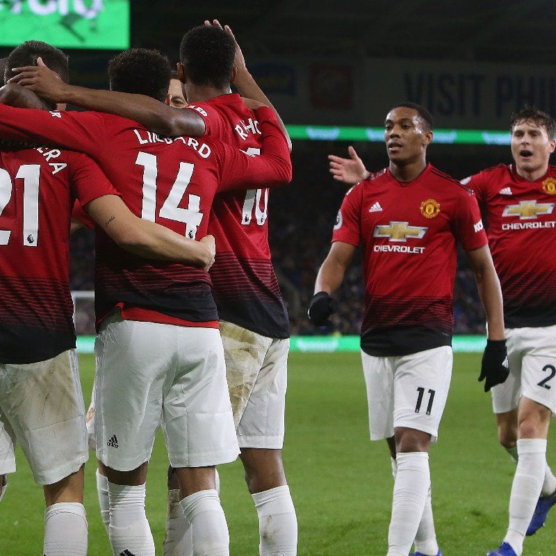 EPL: Jesse Lingard nets twice as Manchester United beat Cardiff City 5-1