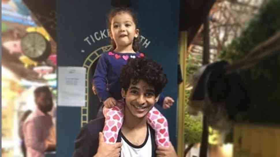 Ishaan Khatter's sassy photo with Shahid Kapoor's daughter is too adorable