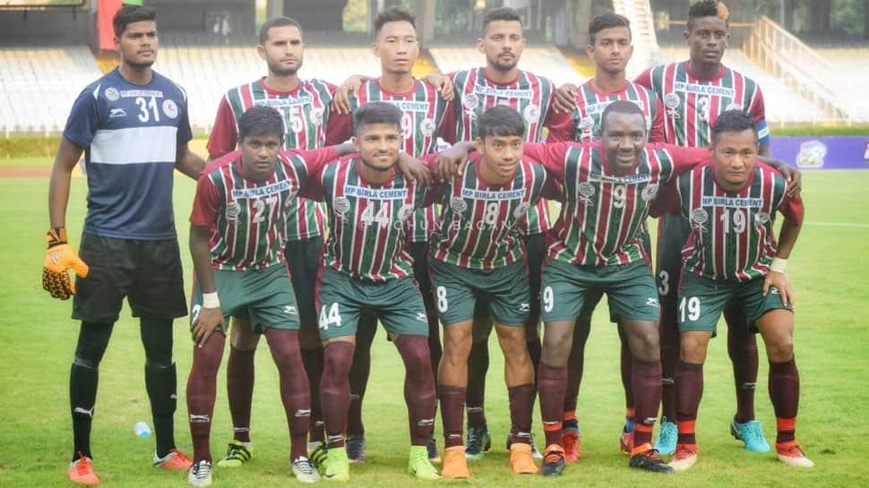 I-League: Mohun Bagan blank Shillong Lajong 2-0 for first home win