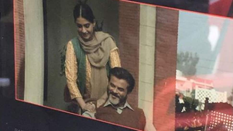 Sonam Kapoor wishes Anil Kapoor on birthday with a BTS picture from 'Ek Ladki....'