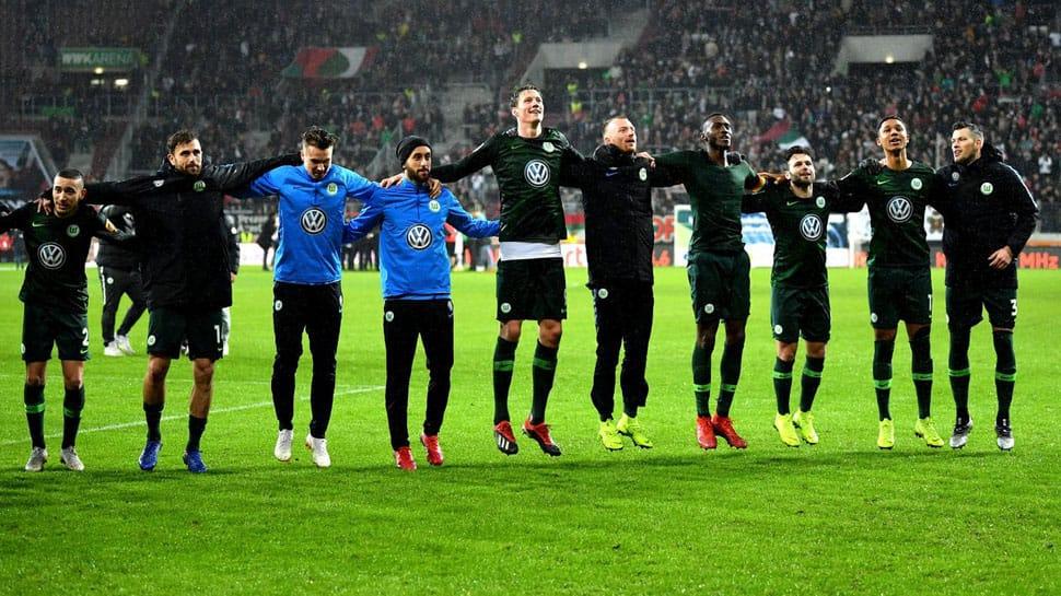 Bundesliga: Wolfsburg edge past Augsburg 3-2, move into 5th place