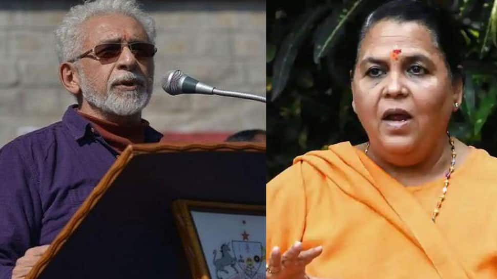 Naseeruddin Shah's comment on Bulandshahr violence part of a 'bigger conspiracy': Uma Bharti