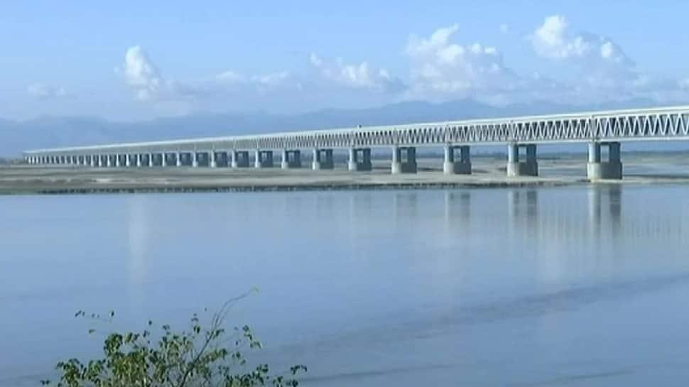 PM Narendra Modi to inaugurate Bogibeel Bridge - India's longest rail-road bridge - on December 25