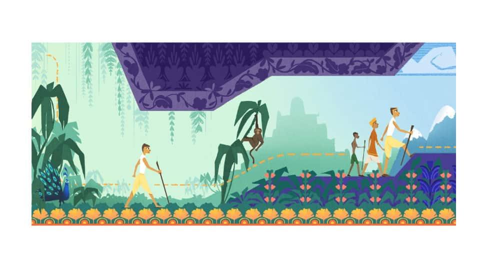Google Doodle honours social activist Baba Amte on his 104th birth anniversary