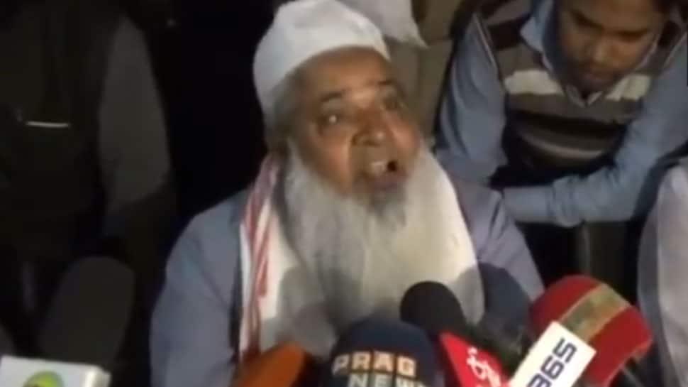 I will break your head: AIUDF's Badruddin Ajmal caught on cam threatening journalist