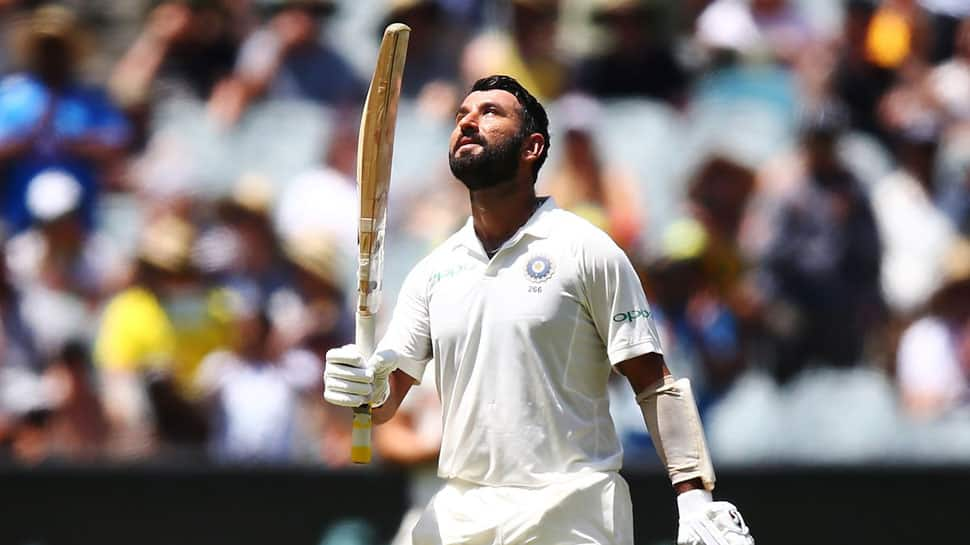 Cheteshwar Pujara slams 17th Test ton, fourth against Australia