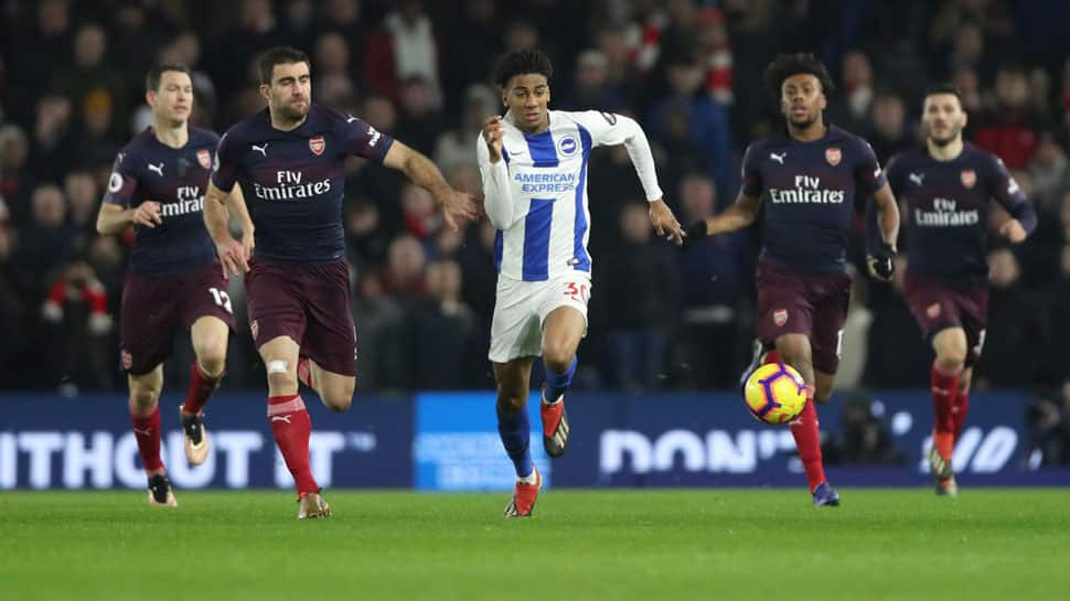 Brighton hold Arsenal to stop losing run in EPL